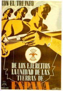 Carteles electorales en la II República y carteles electorales en la Guerra Civil. Cartel Falange