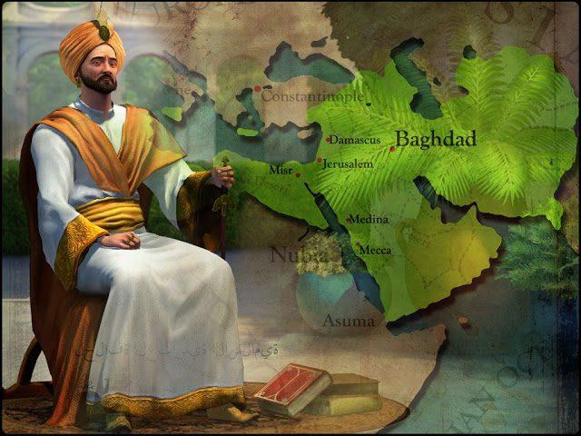 La Edad de Oro de los abasidas Harun al-Reshid