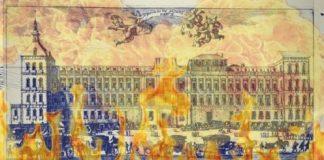 incendio del alcazar de madrid en nochebuena