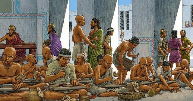 el origen de la escritura cuneiforme en Mesopotamia - invención y año exacto