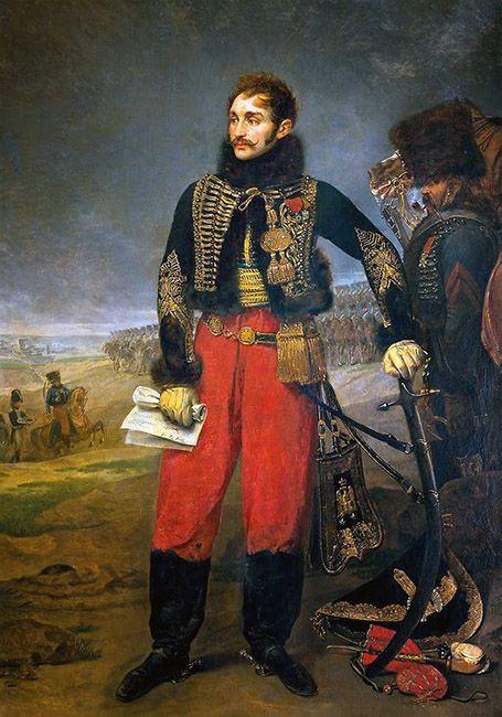 combate contra los mamelucos guerras napoleónicas prototipo húsar Lasalle