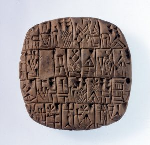 el origen de la escritura año exacto