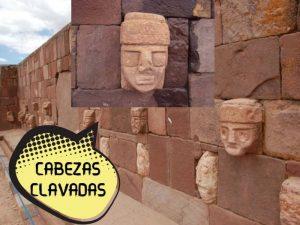 cabezas en la cultura tiwanaku