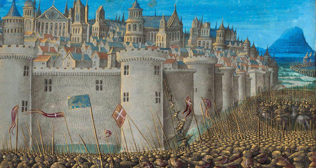 Qué pasó en la Primera Cruzada, 1 cruzada, 1era cruzada. Participantes de la Primera Cruzada, Antioquía en la Primera Cruzada, Urbano II y la Primera Cruzada