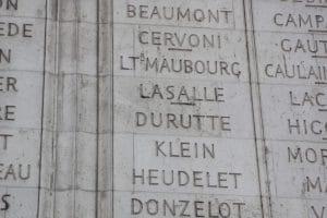 Arco del Triunfo París General Lasalle