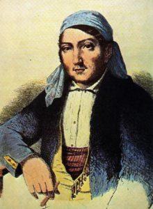 Retrato del bandolero Luis Candelas, grabado de autor desconocido