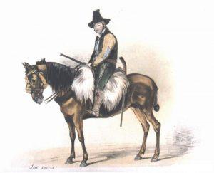 Retrato del bandolero José María el Tempranillo, por John Frederick Lewis
