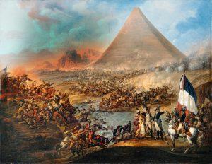 Campaña egipcia napoleónica batalla de las piramides
