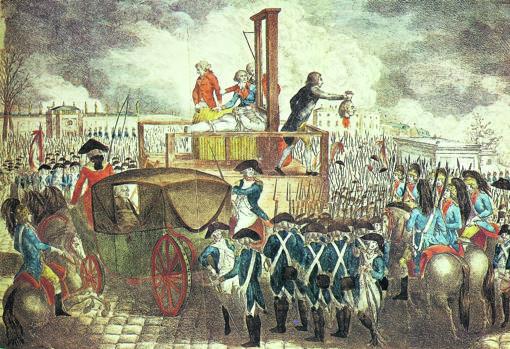 maria antonieta muerte maria antonieta guillotina