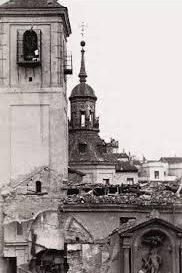 iglesias quemadas en Madrid durante la guerra civil
