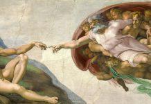 Bóveda de la Capilla Sixtina pintada por Miguel Ángel por orden del papa Julio II