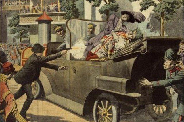 muerte del archiduque, origen de la IGM