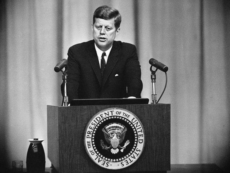 JFK el presidente de la década prodigiosa