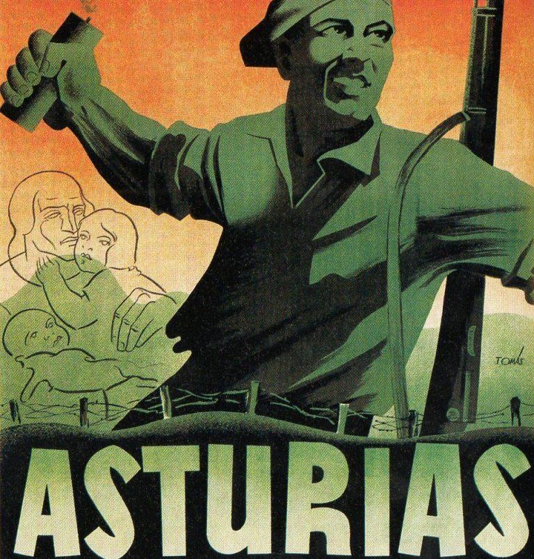 Asturias dinamitada, la insurrección minera de octubre del 34