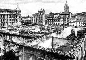Oviedo en la insurreción asturiana
