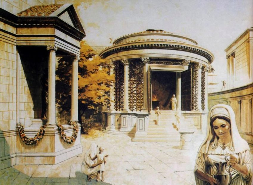 vestales de Roma definicion vestales famosas