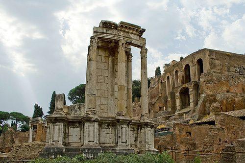 Templo de Vesta Roma