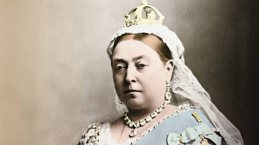 La reina Victoria I de Inglaterra