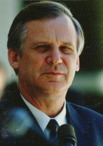 Nikolay Ryzhkov, dirigente soviético encargado de la gestión de limpieza de la central nuclear de Chiernobil y Pypriat