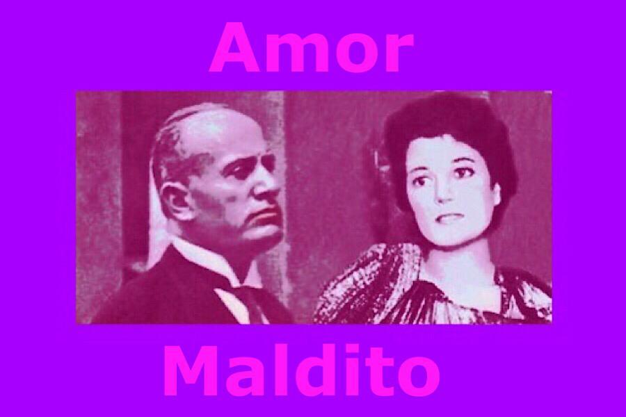 Benito Mussolini y su amante Clara Petacci
