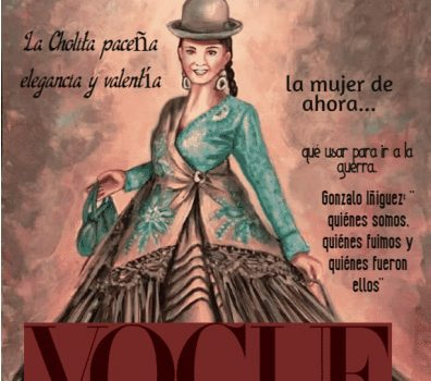 cholita paceña en vogue