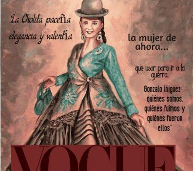 Revista Vogue: la cholita paceña sinónimo de elegancia y valentía