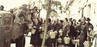 cartillas de racionamiento guerra civil española - comida posguerra española hambre