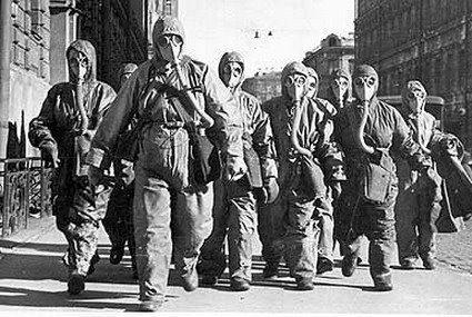 limpiadores trabajadores de chiernobil