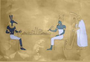 Banquete de Seth y Osiris - Imagenes de la diosa Isis del antiguo Egipto