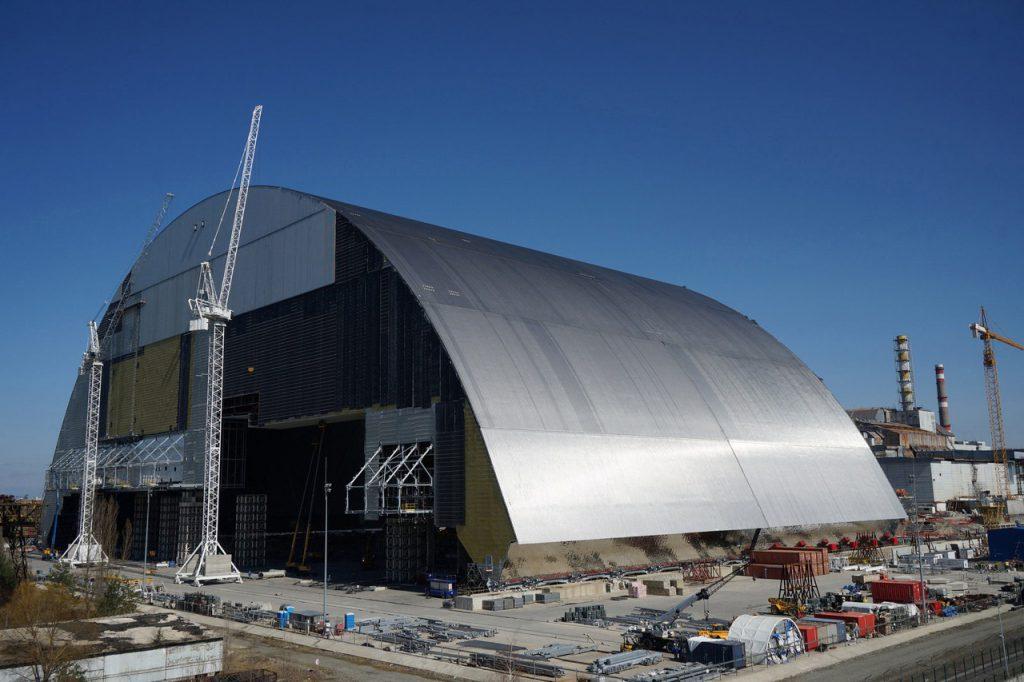 sarcófago nuclear de Chernobyl