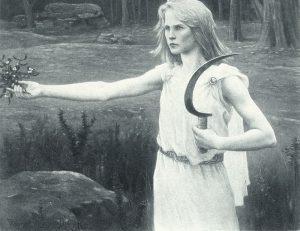 Druidesa, mujer sanadora