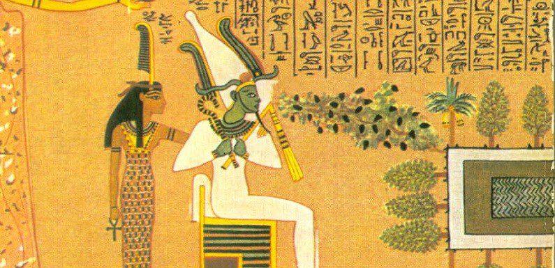Isis diosa de Egipto y Osiris mito