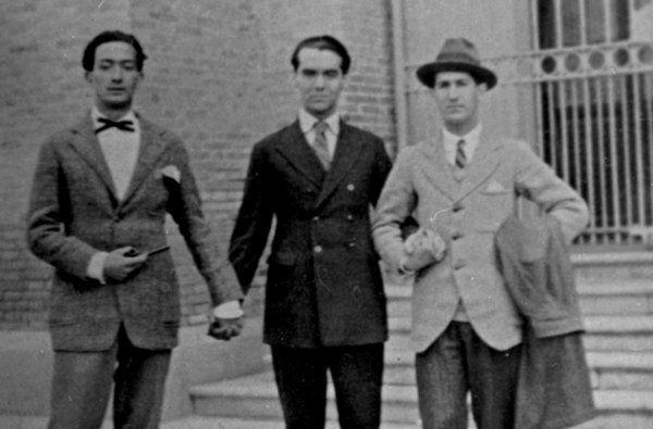 Lorca Dalí José Bello residencia de estudiantes