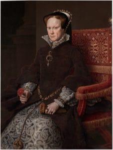 María Tudor Bloody Mary reina de Inglaterra