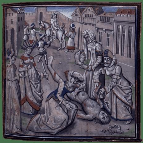 Muerte de Andrónico Juan II Comneno dinastía de los comnenos