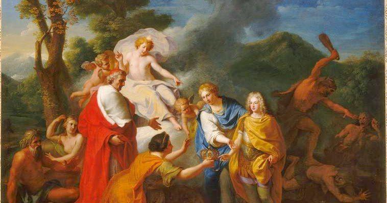 Felipe de Anjou coronación