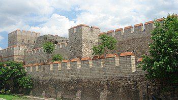 La gran muralla de Constantinopla Imperio Bizantino