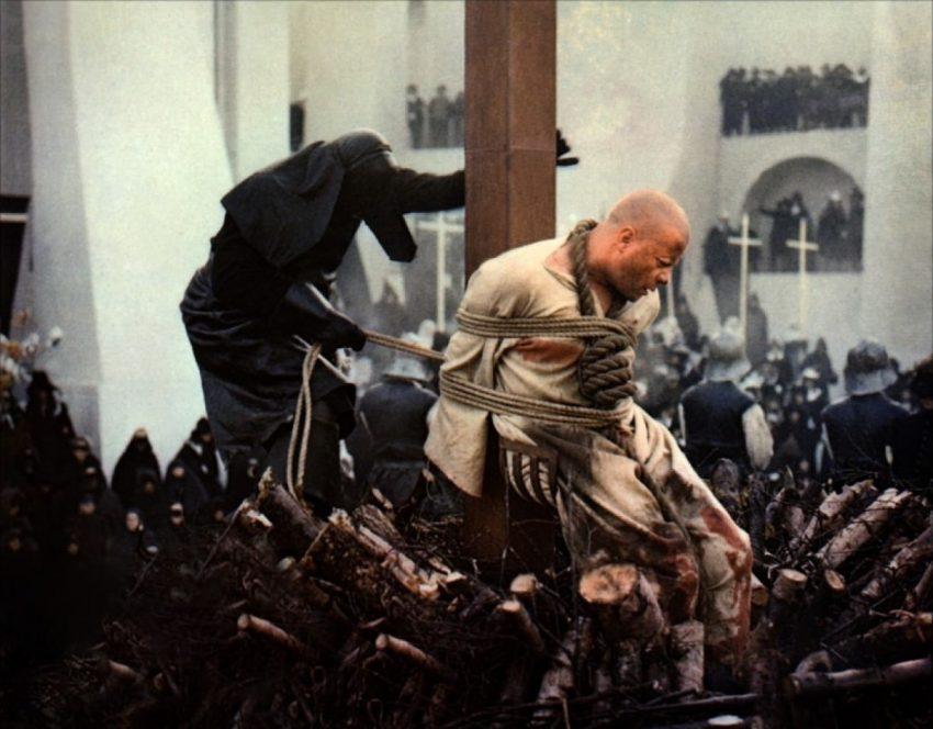 ejecucion en la hoguera ejecuciones en la hoguera el diablo en el convento