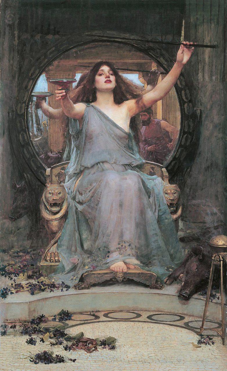 Circe, la mujer bruja en la antigua Grecia