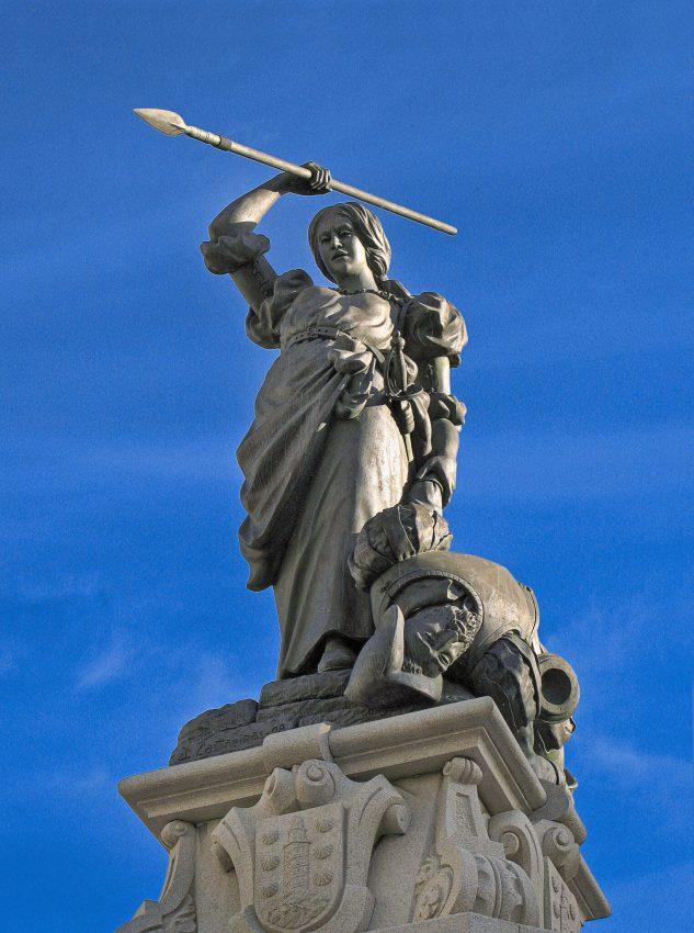 Estatua María Pita La Coruña