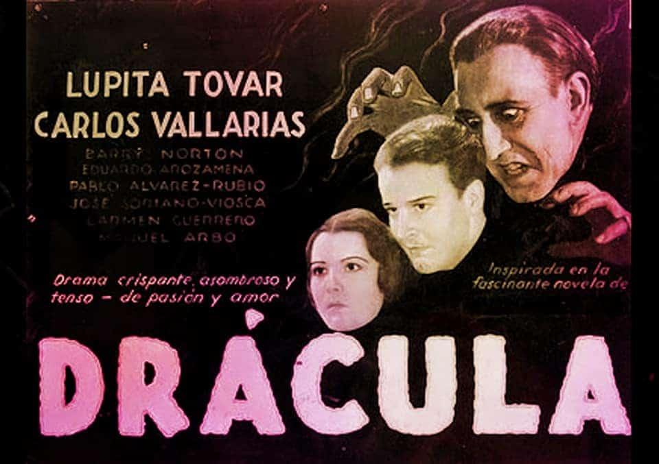 Béla Lugosi vampiros en el cine Carlos Villarías El Cordobés