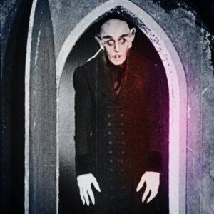 primer vampiro en el cine Nosferatu
