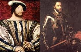 Francisco I y Carlos V Reyes - Armada Invencible de España