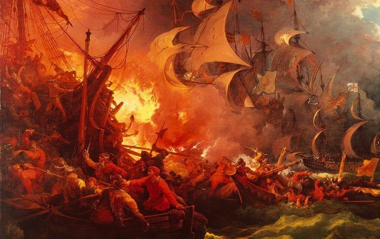 La Armada Invencible: el apodo que nos colocaron por una tormenta