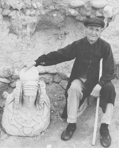 Agricultor que descubrió a la Dama de Elche