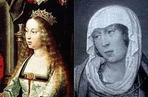 Isabel I la Católica y su sobrina Juana la Beltraneja se enfrentaron en una guerra de sucesión por el torno castellano durante 4 años