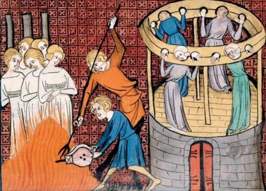 mujer medieval caracteristicas pintura la medievo