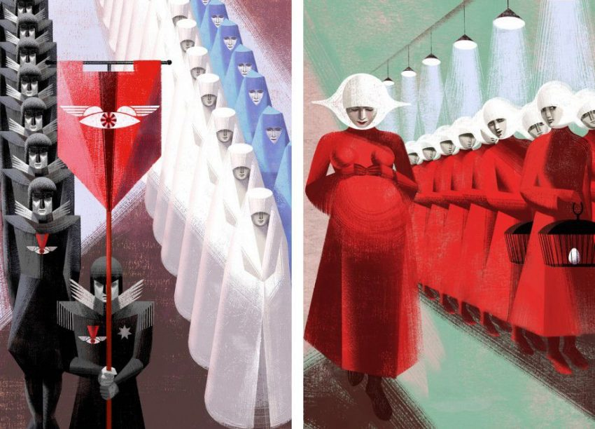 el cuento de la criada y la república de Gilead