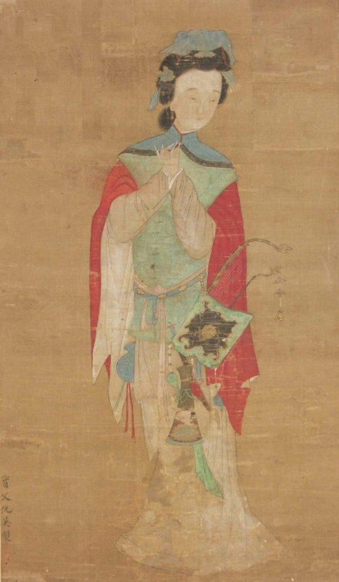 Verdadera Mulán del siglo XVIII - Dibujo