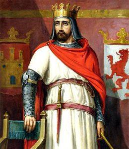 Enrique II, primer rey de la la dinastía Trastámara en la corona de Castilla